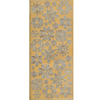 Gold Stickers Christmas Snow Flakes 155-01
