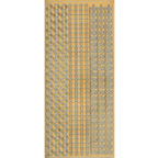 Gold Stickers Borders 273-01