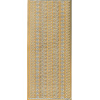 Gold Stickers Lace 292-01