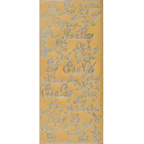 Gold Stickers Its a Boy Its a Girl 293-01