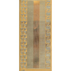 Gold Stickers Assorted Borders & Corners 297-01