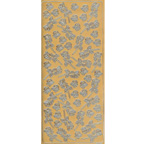 Gold Stickers Roses 303-01