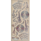Silver Stickers Music 534-02