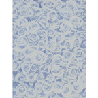 A4 Rose Blue Printed Cardstock