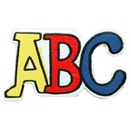 Craft Wood Letters ABC Embellishment