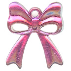 Bright Pink Bow Gem