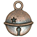 Metal Embellishment Bronze Bell