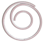 Paper Clip Pink Swirl Large