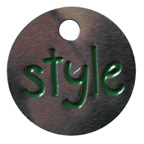 Tag Style Embellishment