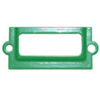 Name Plaque Bright Green