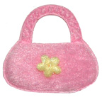 Pink Bag Embroidery Embellishment