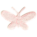 Pale Pink Butterfly Embroidery Embellishment