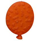Balloon Button Orange