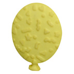 Balloon Button Yellow