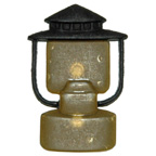 Camping Lamp Button Embellishment