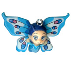 Butterfly Boy Blue Charm Embellishment