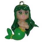 Mermaid Charm Embellishment