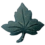 Maple Leaf Button Green