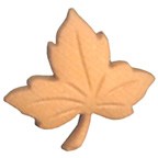 Maple Leaf Button Small