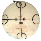 Resin Talisman Wards Off All Negative Forces