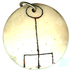 Resin Talisman Attracts Ths Love of the Person you Most Desire