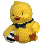 Sailor Duck With Ball Resin Embellishment