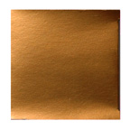 95mm Gloss Copper Large Cube Bonbonniere