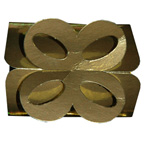 Metallic Gold Bow Box