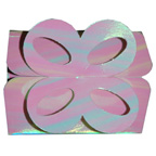 Pearl/Pink Iridescent Bow Box