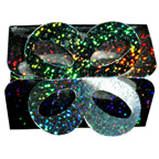 Silver Sparkle Hologram Bow Box