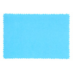9.5x6.5cm Deckle Edge Card Blue