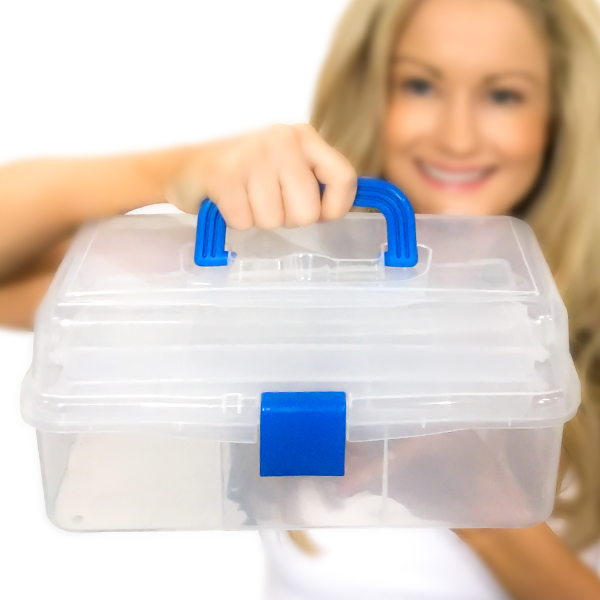 Plastic Art Storage Containers