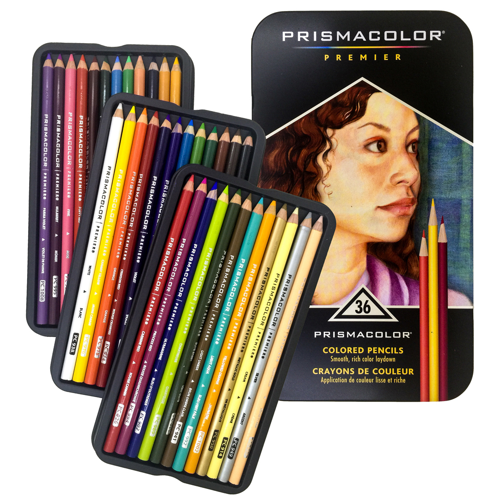 36pc Premier Prismacolor Pencils