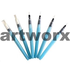 6pc Fluid Brushes Pro Hart Swagger