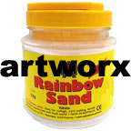 White Colored Sand 1kg