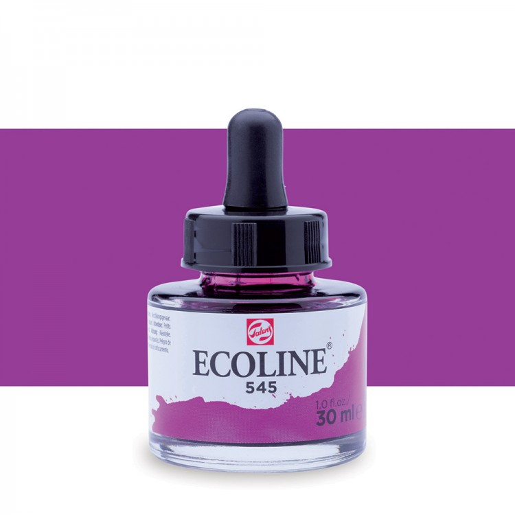 Red Violet Talens Ecoline Ink 30ml