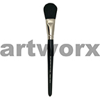 3/4 inch S&S Mop Fine Hair Goat Paint Brush SS5018