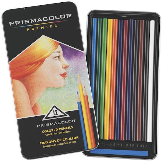 12pc Premier Prismacolor Pencils