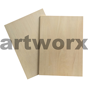 225 x 300 Japanese Plywood Plates 4mm