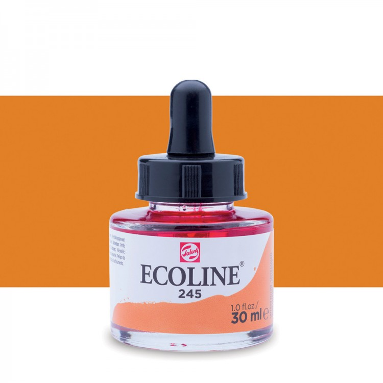 Saffron Yellow Talens Ecoline Ink 30ml