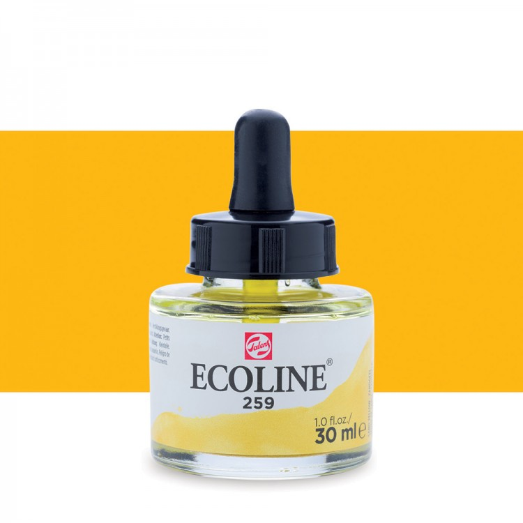 Sand Yellow Talens Ecoline Ink 30ml