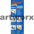 """Assorted Sheets x5 White, Yellow, Red, Blue, Graphite 8.5x11"""" Saral Transfer Paper"""