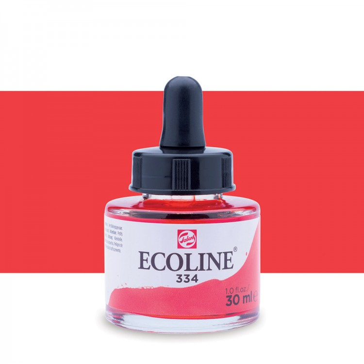 Scarlet Talens Ecoline Ink 30ml
