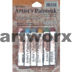 6pc Traditional Colours Shiva Oil Paintsticks
