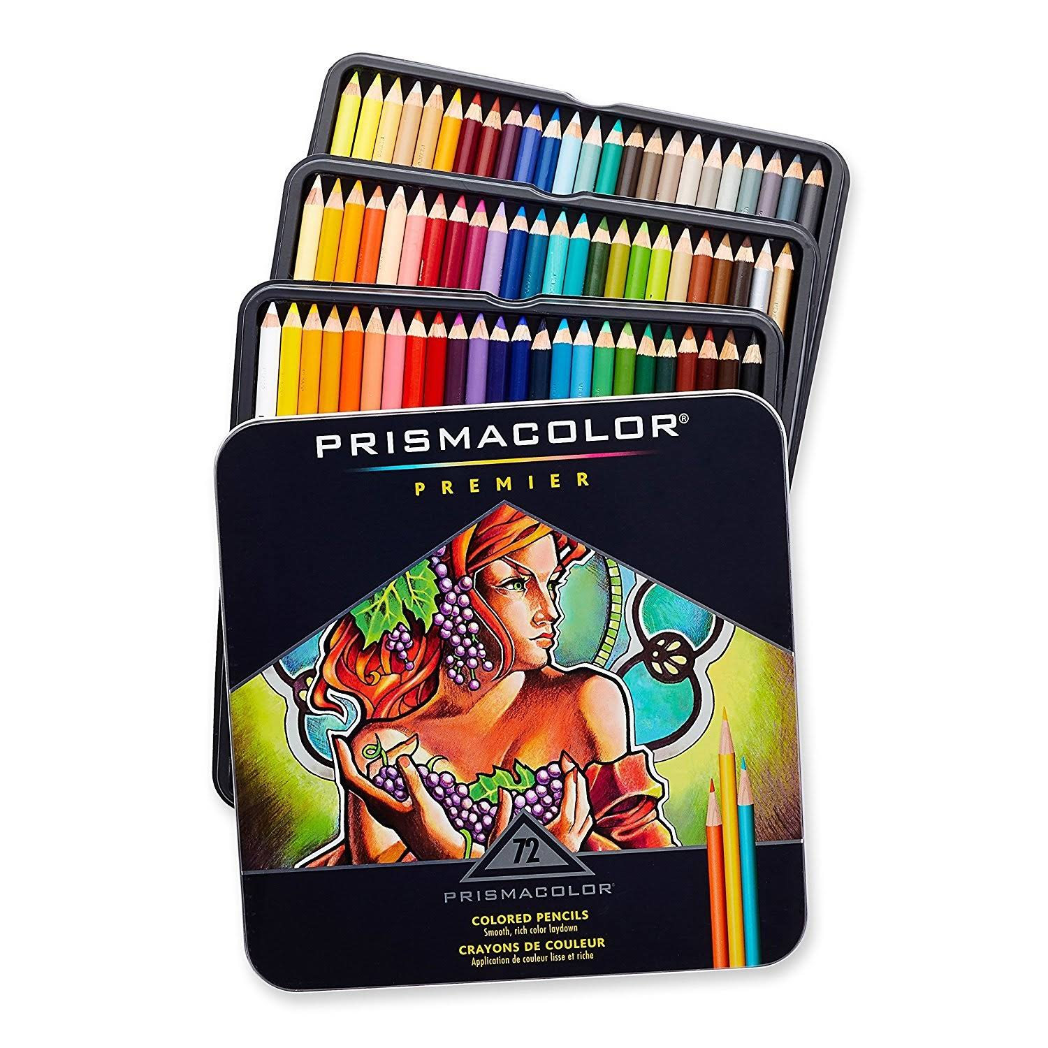 72pc Premier Prismacolor Pencils