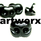 12mm Animal Noses