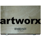 60pc Full Length Wooden Case Portrait Rembrant Soft Pastels