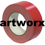 Red 48mmx25m Cloth Tape