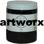 Sepia Gamblin Etching Relief Ink 175ml