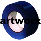 Blue 48mmx25m Cloth Tape